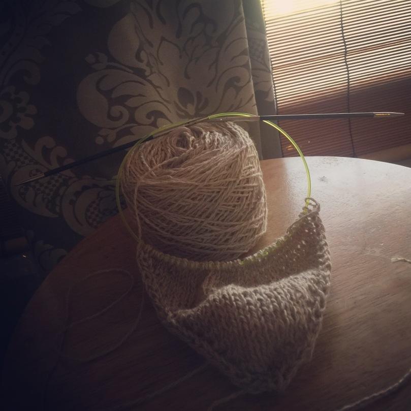 Hankerin' to knit a hanky