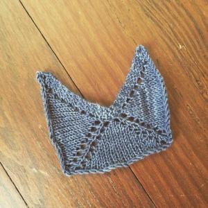 3/4 Shawl aka castle shawl.